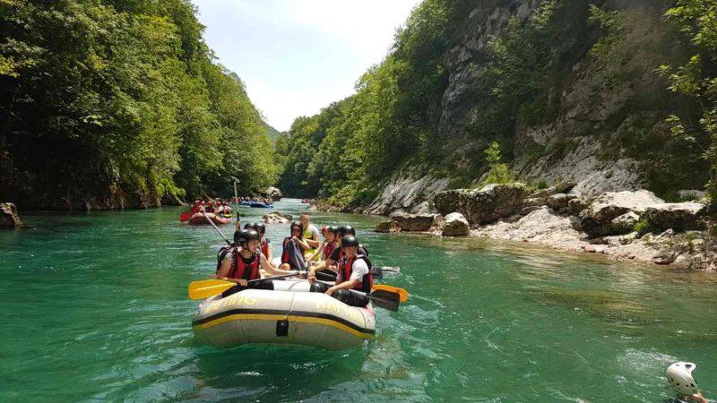 Tara Rafting Camp Modra Rijeka